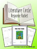 Tikki Tikki Tembo Literature Circle Response Packet- Novel Study- Book Club!