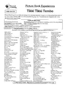 Tikki Tikki Tembo Literature Guide