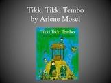 Tikki Tikki Tembo, Text Talk, Collaborative Conversations