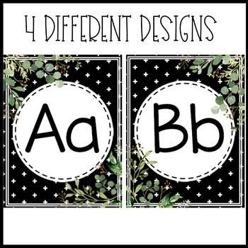 Tile Farmhouse Alphabet Posters