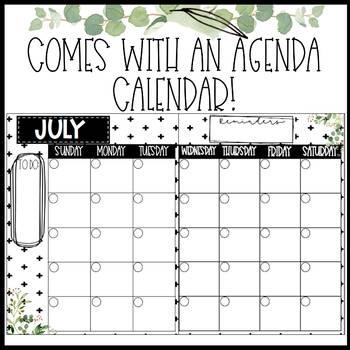 Tile Farmhouse Calendar Pack