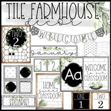Tile Farmhouse Classroom Decor Bundle