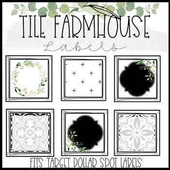 Tile Farmhouse Labels
