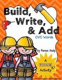 Tile It! Build, Write, & Add- CVC words