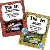 Tile It! Letter Tile Spelling - BUNDLE