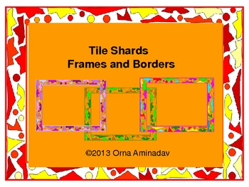 Tile Shards Frames and Borders