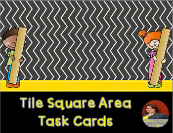 Tile Square Area Task Cards
