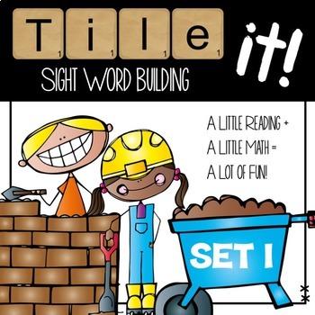 Tile it! Sight Words-set 1 & 2 bundle