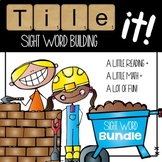Tile it! Sight Words-set 1 & 2 bundle