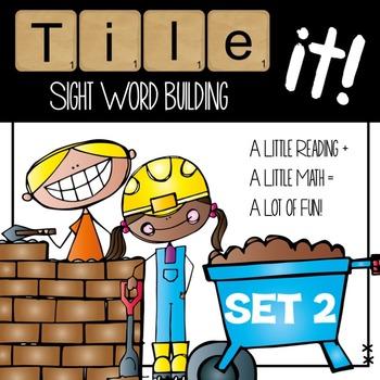 Tile it! Sight Words-set 2 (sight word practice)
