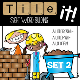 Tile it! Sight Words-set 2 (sight word practice)