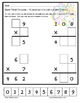 Tiling - 2 digit x 1 digit Multiplication Puzzle - FREE