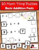 Addition Facts Tiling Puzzles
