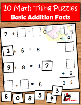 10 Tiling Puzzles for Addition Facts