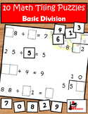 Division Facts Tiling Puzzles