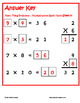 Tiling -Multiplication Facts Puzzle - FREE