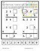 Tiling -Multiplication Puzzle - 3 and 4 digits by 1 digit - FREE