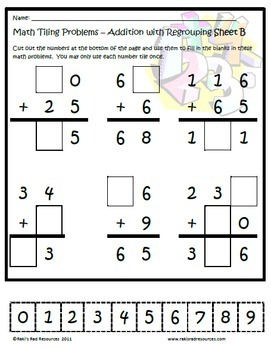 Tiling Puzzles Bundle - Addition & Subtraction