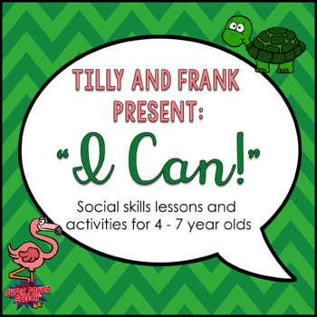 """""""I Can"""" Social Skills Lessons for Young Children"""