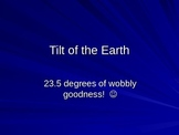 Tilt of the Earth PowerPoint- equinox, solstice, climate
