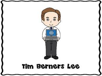 Tim Berners Lee (Inventor Graphic Organizers)