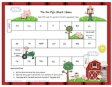 Tim the Pig's Short i Literacy Station Word Game RF.1.3, RF.2.3