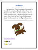 Tim the Pup: Reading Comprehension Activity