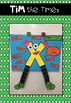 Tim the Times and Ryder the Divider - Maths Symbol Craft!