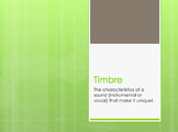 Timbre Activity