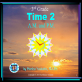 3rd Grade Time 2 - A.M. or P.M. Powerpoint Lesson