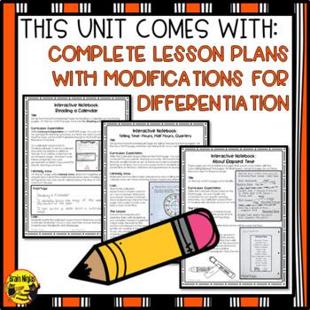 Time Interactive Notebook Grades 4-5