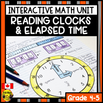 Time Interactive Notebook Grades 4-5