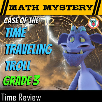 Time Review - Reading and writing Time, Elapsed Time, Time Patterns