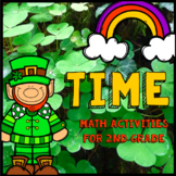 Time - 2nd Grade Math - Telling Time, Analog, Digital, St.
