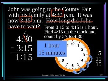 Common Core 3rd - Time 3 - Solving Time Word Problems