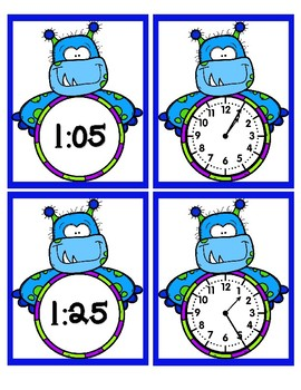 Time - 5 Minute Intervals - Monsters