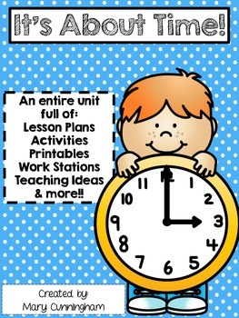 Time {A Complete Unit for K-1}