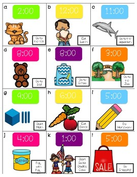 Time AM or PM? 3 Activities!