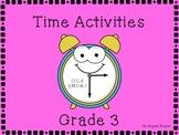 Time Activities Grade 3