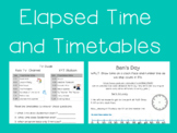 FREE Time Activities- Timetable Work