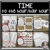 Time:  Activities for telling time to the hour and half hour