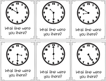 Time Adventures: Telling Time to the Nearest 5 Minutes