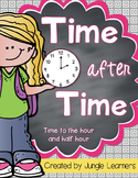 #SPRINGSAVINGS Time to the Hour and Half Hour: Printables, Centers & Games
