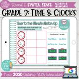Time & Analog clocks Grade 3 2020 Ontario Math DIGITAL Str