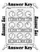 Time ~ Analog to Digital Random Time 2 ~ One Work Sheet ~  Seasons / Holidays
