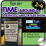 Time Around Us Real Life Picture Cards for Telling and Ela