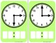 Time - Around the Clock Flashcards - Write and Wipe Dry Erase