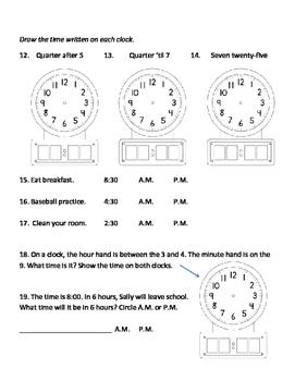 Time Assessment