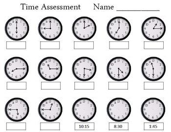 Time Assessment Worksheet by Empowered By THEM   TpT