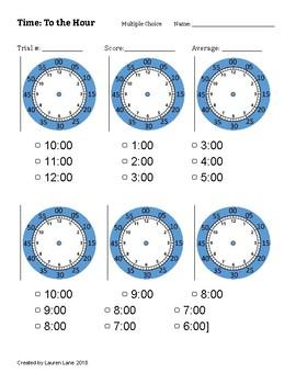 Blank Clock Teaching Resources | Teachers Pay Teachers